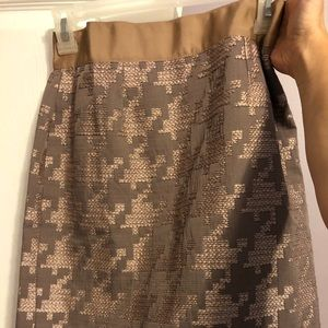 Loft size 2 blush pencil skirt